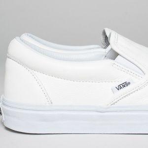 Furgoni Slittamento Classico Su Pelle Di Prima Qualità Mono Bianco xTTIRAG1Tt